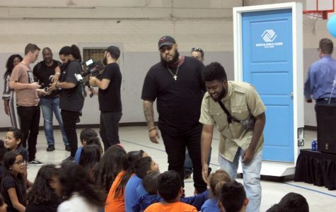 Khalid Donates $10,000 to Boys and Girls Club in Surprise Visit