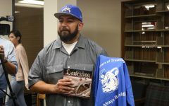 LA Chicano Artist Visits Bowie Ahead of La Fe Exhibit