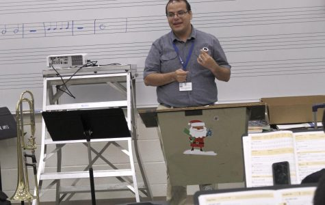 New Band Teacher Shares His Love for Music