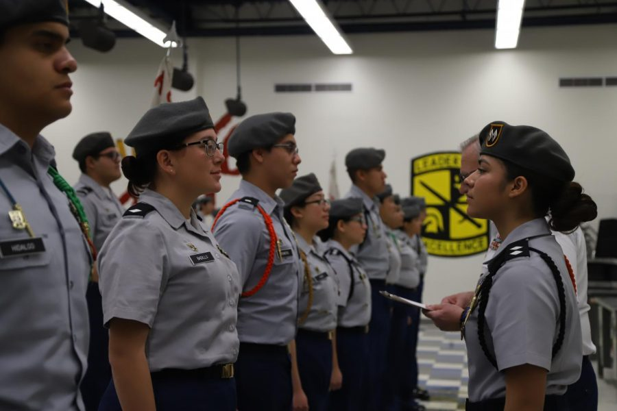 JROTC Receives Top Honors at Inspections