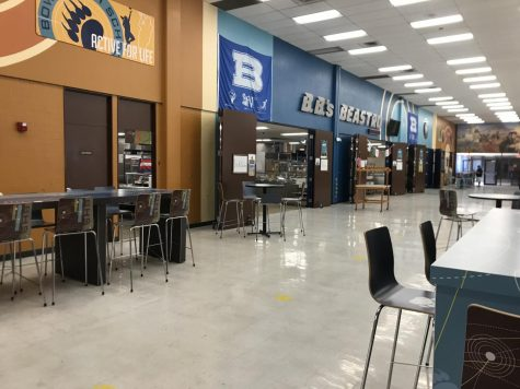 Bowie students discuss cafeteria food