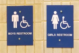Students outraged about the new bathroom rule