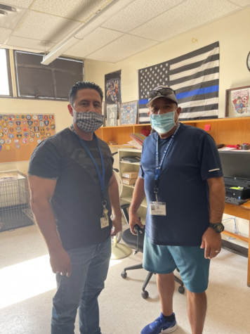 Campus Patrol Protects Bowie High School